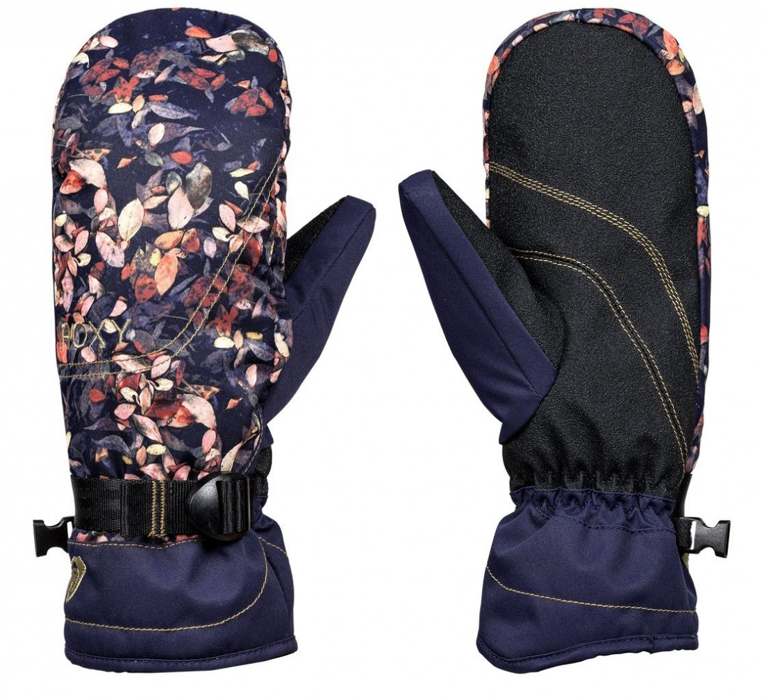 Варежки Roxy Jetty Mitt PEACOAT_WATERLEAF S