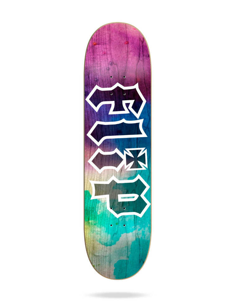 Дека Для Скейтборда FLIP Hkd Tie Dye Deck PURPLE 8,45