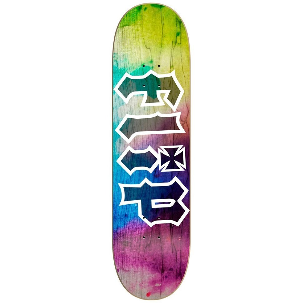Дека Для Скейтборда FLIP Hkd Tie Dye Deck YELLOW 8