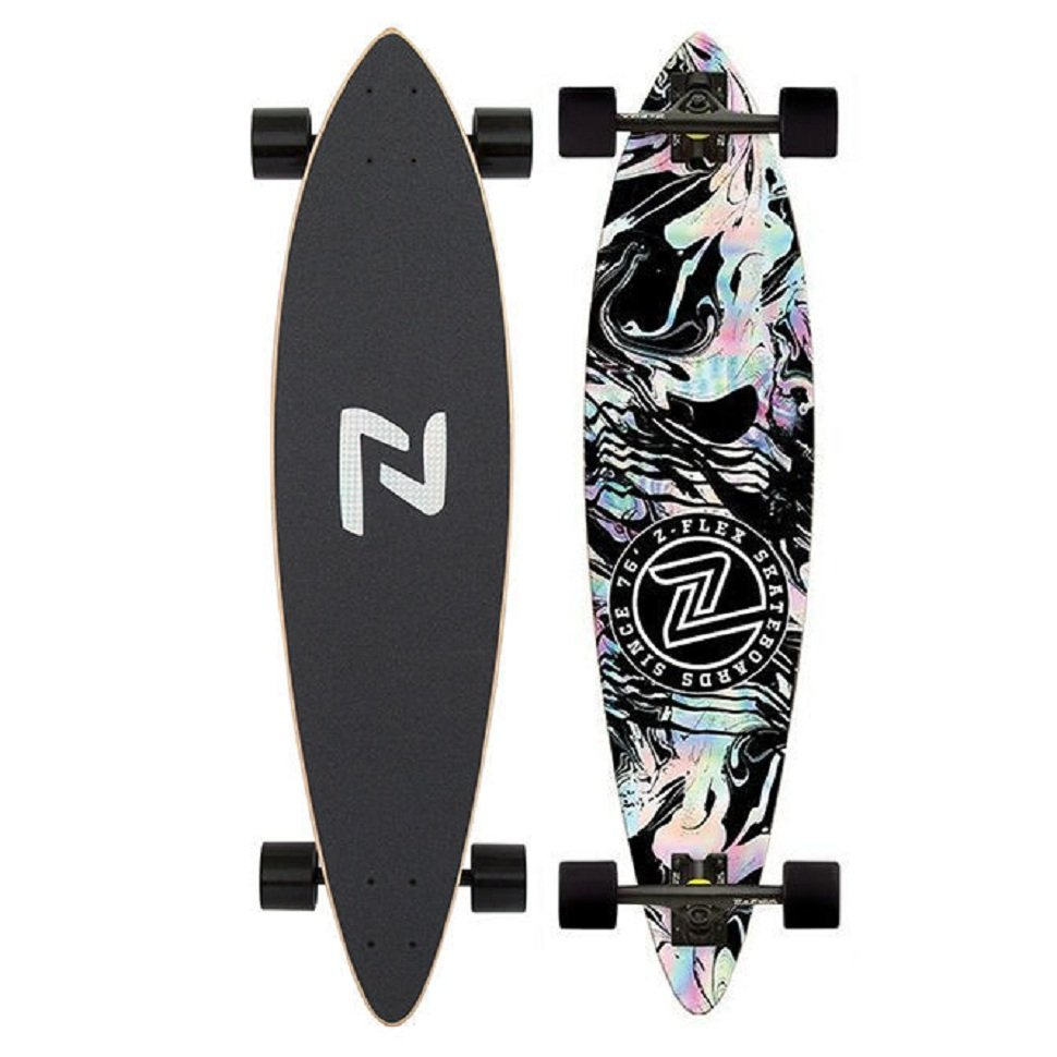 Комплект Лонгборд Z-FLEX Pintail Longboard Acid Black 815049022780
