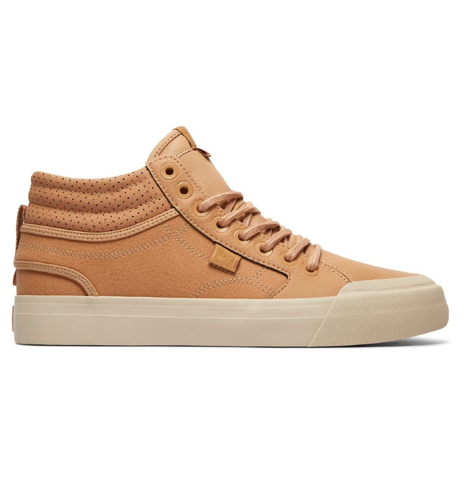 Кеды женские DC SHOES Evan Hi Se J Brown/Sand 3613373251565