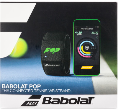 Теннис-треккер Babolat Connected wristband POP 100001-0