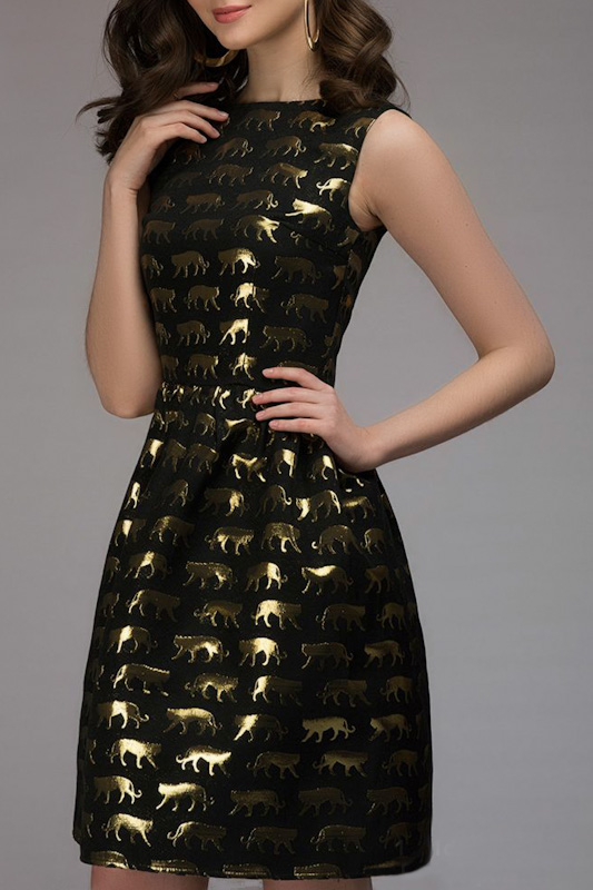 Платье 1001dress DM00714BK