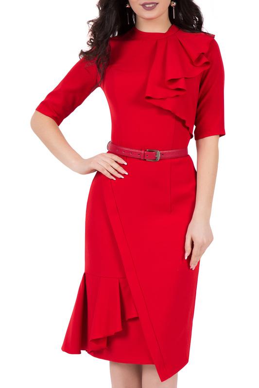 Платья Для Женщин Цвет Красный