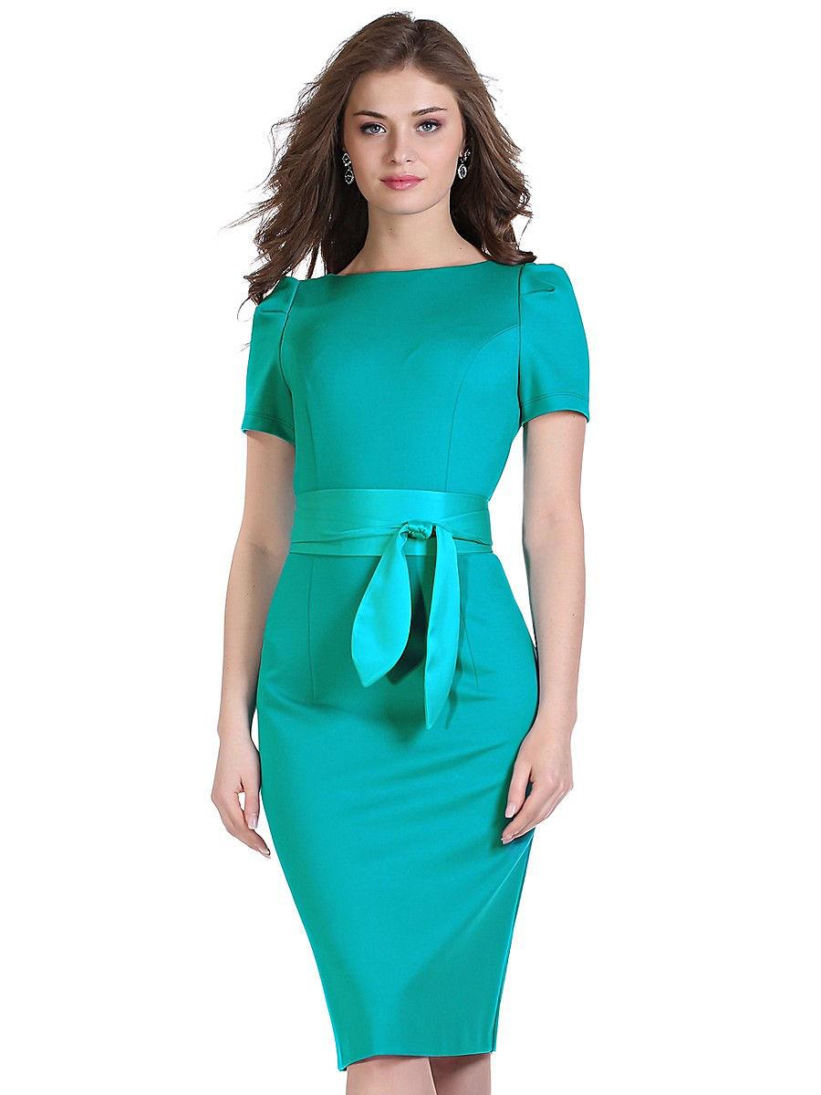бирюзовое платье футляр фото можно купить